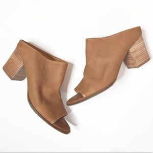 Lucky Brand Organza Leather Mule